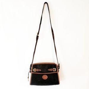 Dooney and Bourke Vintage Crossbody Bag Blk Brown